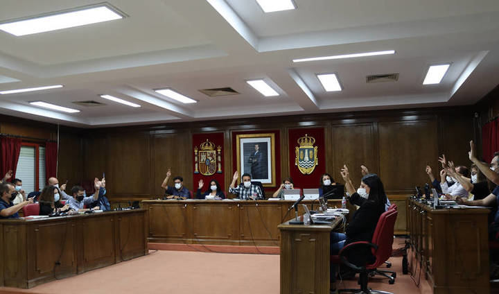 El Pleno del Ayuntamiento de Azuqueca aprueba por unanimidad una donación de urgencia de 70.722 euros para ayudar a los damnificados por el volcán de La Palma