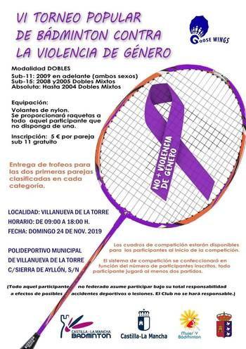 El Ayuntamiento de Villanueva de la Torre se compromete con el Día Internacional contra la Violencia de Género