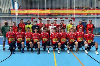 La selección juvenil de Balonmano de España vuelve a enfrentarse a Portugal este sábado en el Ciudad de Azuqueca