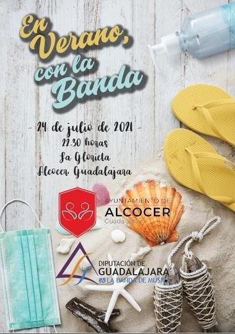 Concierto de la Banda de Música de la Diputación de Guadalajara el sábado 24 en Alcocer