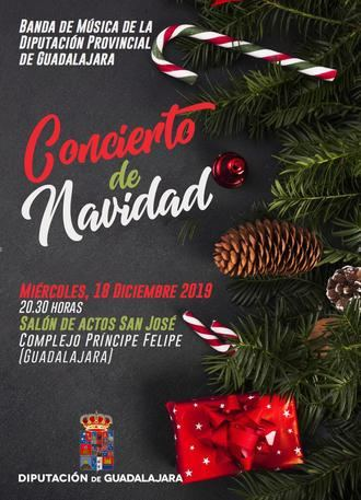 La Banda de Música de la Diputación de Guadalajara ofrecerá el