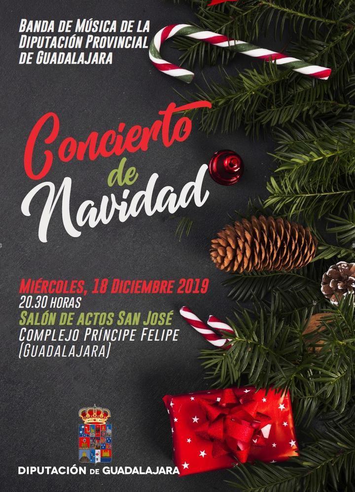 """La Banda de Música de la Diputación de Guadalajara ofrecerá el """"Concierto de Navidad"""" el próximo miércoles en el San José"""