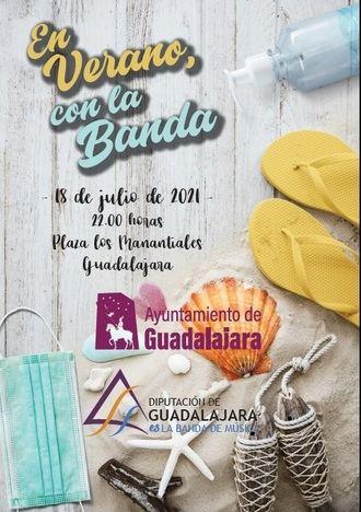 La Banda de Música de la Diputación ofrecerá un concierto el domingo 18 en Los Manantiales