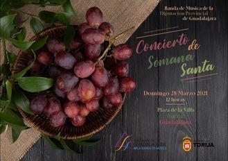 La Banda de Música de la Diputación retoma sus actuaciones en público con un concierto el Domingo de Ramos en Torija