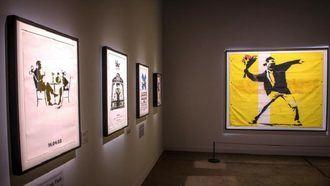 Una exposición de Banksy con más de 30 obras, en el Círculo de Bellas Artes de Madrid