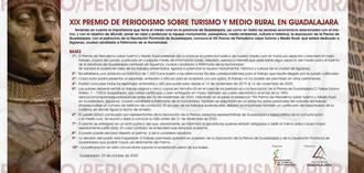La Asociación de la Prensa de Guadalajara convoca la decimonovena edición del Premio de Periodismo Sobre Medio Rural