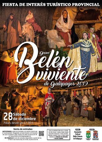 Decimocuarta edición del Belén Viviente de Galápagos, declarado Fiesta de Interés Turístico Provincial