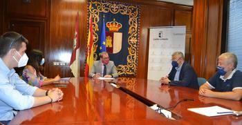 Eusebio Robles se reúne con Alfonso Guijarro, director del BNI para conocer el trabajo colaborativo de más de un centenar de empresas de Guadalajara