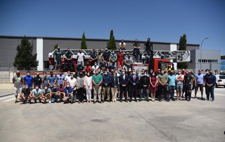 81 bomberos de la Diputación de Guadalajara mejoran su escala profesional