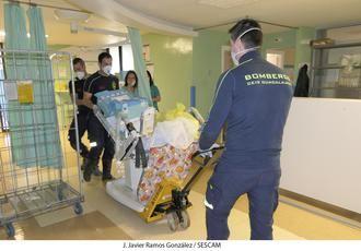 El Ministerio de Sanidad reconoce como buena práctica de seguridad del paciente el traslado del paritorio, Obstetricia y Pediatría del Hospital de Guadalajara durante la pandemia