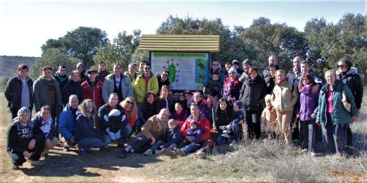 El bosque de Valdenazar refuerza su faceta didáctica e investigadora en el quinto aniversario de su ruta circular