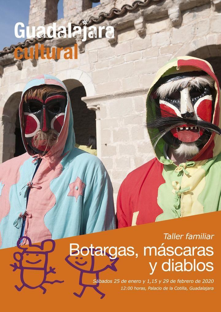 Abierta la inscripción para la nueva actividad programada para familias vinculada al Carnaval 2020 de Guadalajara