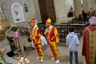 Emotiva celebración de San Blas en Albalate de Zorita