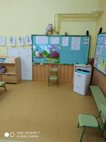 El Ayuntamiento de Brihuega dota de purificadores a los centros de enseñanza públicos del municipio para maximizar la seguridad frente al coronavirus