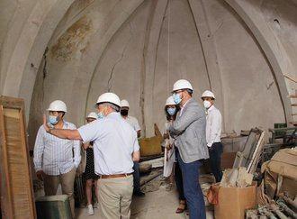 La iglesia de San Simón de Brihuega será monumento visitable a partir de la próxima primavera