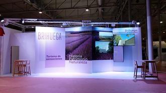 Lavanda, cultura e historia cincelada en piedra, los atractivos de Brihuega en INTUR 2019