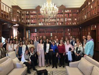 Teresa Valdehita, concejal de Cultura y Patrimonio de Brihuega, firmó en México la Carta de Intención de hermanamiento entre Puebla de Zaragoza y la villa alcarreña