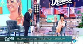 Repaso de Belén Esteban a Jorge Javier por la desastrosa gestión del coronavirus del Gobierno de Sánchez e Iglesias