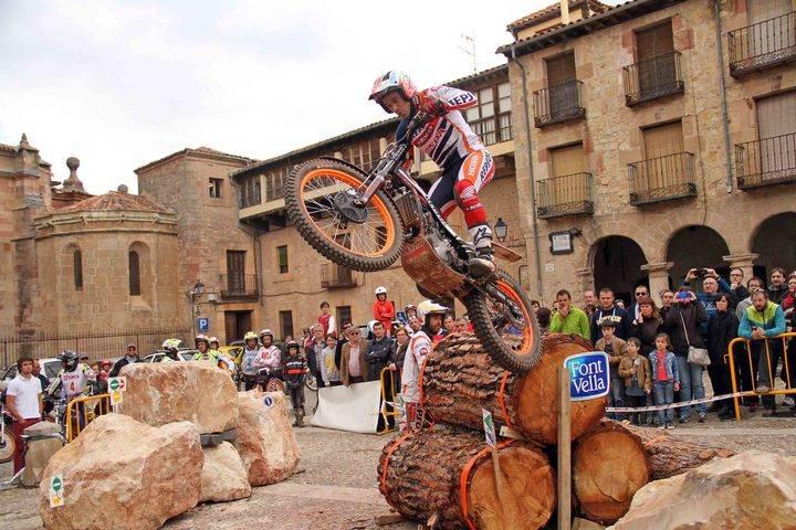 Sigüenza acoge este fin de semana la tercera prueba del Campeonato de España de Trial