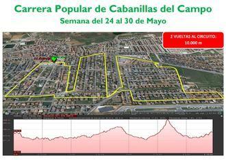 Cabanillas recupera su tradicional Carrera Popular, pero de modo individual y comunicando tiempos