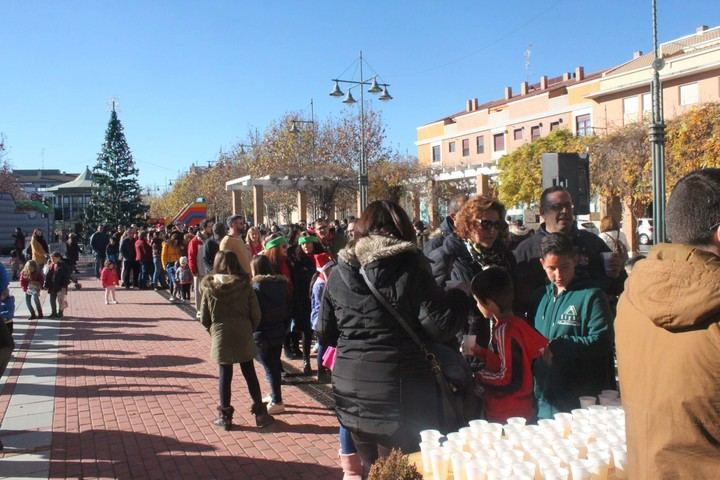 Cabanillas despide el año con una fiesta de mayores este lunes, y las uvas del Ayuntamiento y la San Silvestre el martes 31