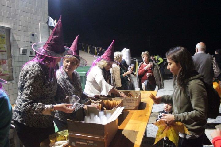 Cabanillas vivió su Halloween más participativo