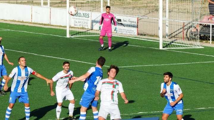 Tablas en el derbi, 2-2, entre Cabanillas y Hogar Alcarreño