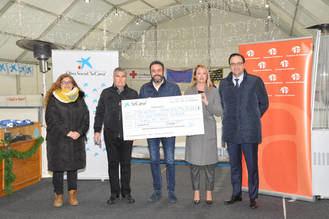 La Asamblea Local de Azuqueca de Cruz Roja recibe 15.000 euros de CaixaBank