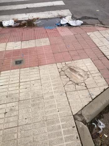 Las calles de Azuqueca...¡abandonadas!