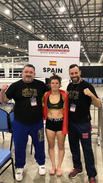 La residente en Guadalajara Zenja Krantic, campeona mundial GAMMA en Signapur