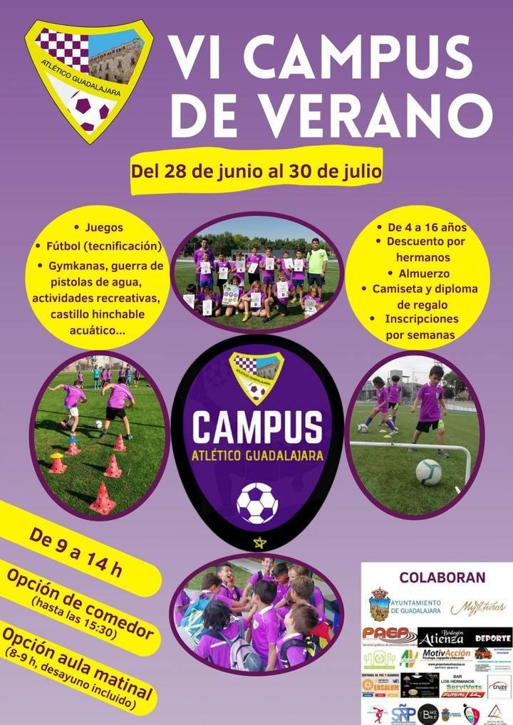 VI Campus de Verano Atlético Guadalajara
