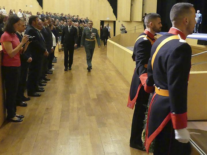 El subdelegado del Gobierno en Guadalajara destaca el papel de la Guardia Civil como garante de la seguridad y vertebrador del territorio