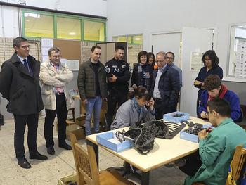 La Jefatura Provincial de Tráfico forma en educación vial a un centenar de usuarios del centro ocupacional Las Encinas