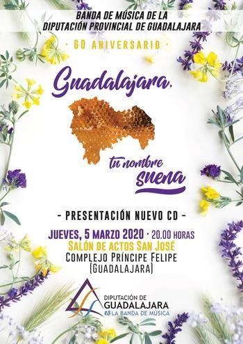 La Banda de Música de la Diputación comparte la 'Canción a Guadalajara' en internet
