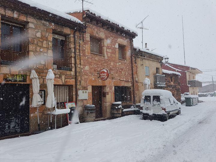 Foto : El bar de Cantalojas
