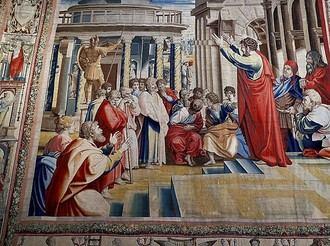 Nueve tapices y un trozo de la Capilla Sixtina en Madrid