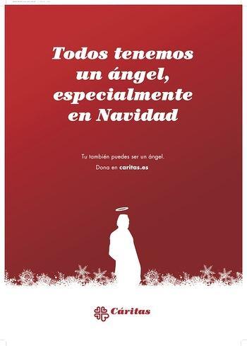 Cáritas Sigüenza-Guadalajara lanza su Campaña de Navidad bajo el lema «Todos tenemos un ángel, especialmente en Navidad»