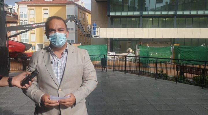 El PP denuncia que la ausencia de gestión de Alberto Rojo traerá sanciones de Europa por los retrasos en la obra del centro Cívico de Guadalajara