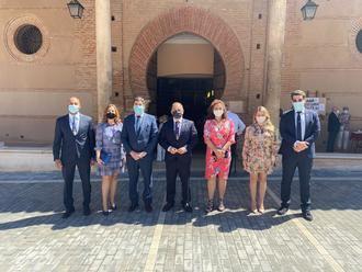 Los concejales del Grupo Popular de Guadalajara asisten a la misa del Corpus Christi
