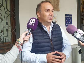 Carnicero propone proyectos para la ciudad de Guadalajara con las ayudas europeas cuyo plazo expira el 30 de septiembre