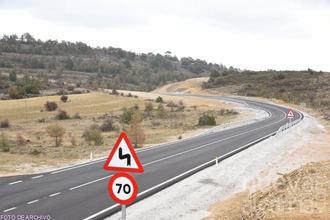 Se abre al tráfico la GU-249 con limitaciones por precaución de nivel amarillo