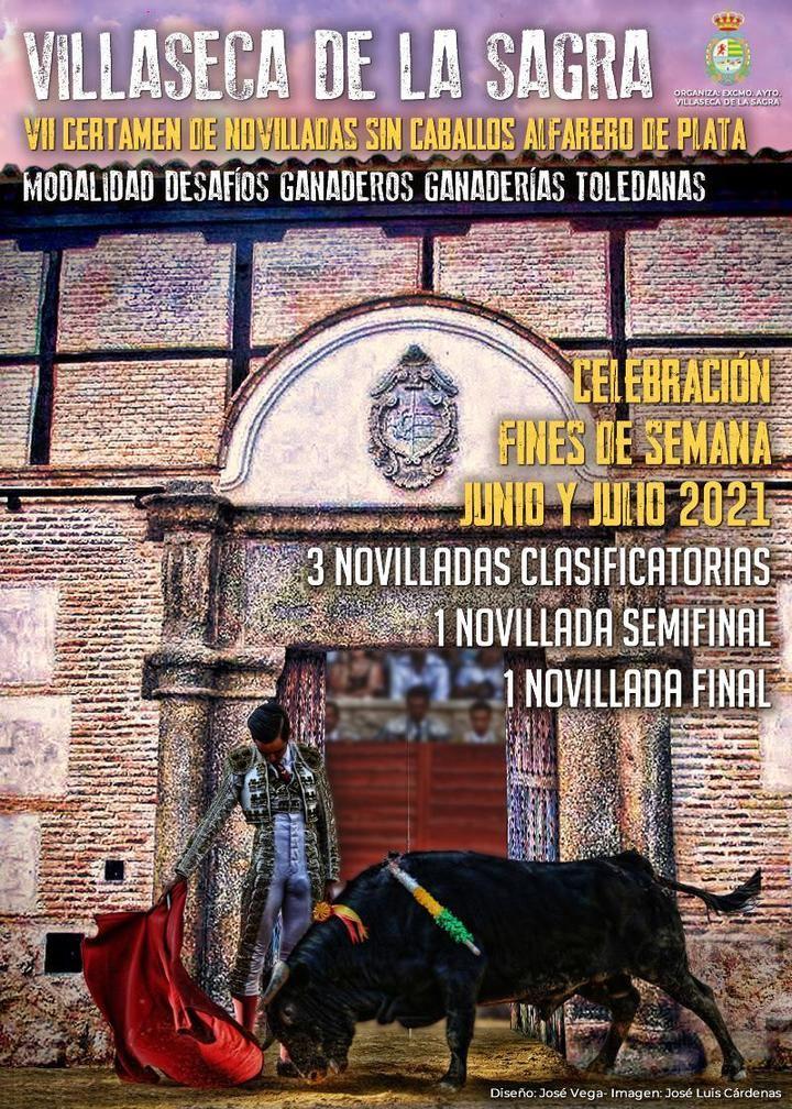 """Villaseca de la Sagra convoca el '""""VII Certamen Alfarero de Plata' para novilleros sin picadores"""