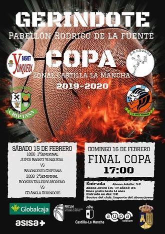 Juper Basket Yunquera buscará este fin de semana traerse a casa la #COPAZONALCLM desde Gerindote