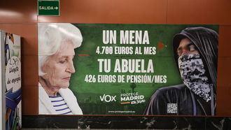 La justicia AVALA (en contra de la Fiscalía y el PSOE) el cartel electoral de Vox sobre los Menas: