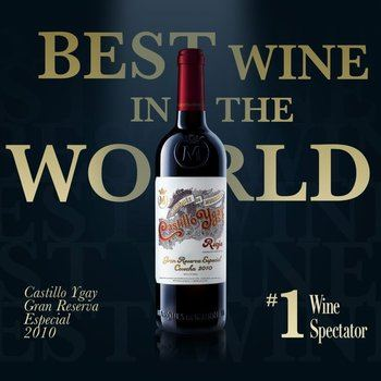 El mejor vino del mundo 2020 es el español Castillo de Ygay 2010