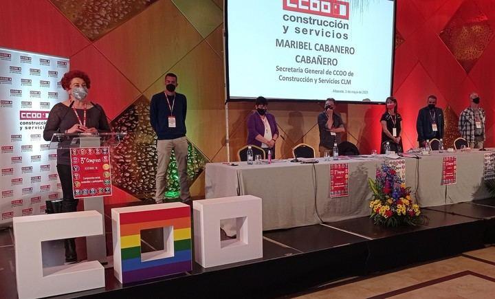 Maribel Cabañero, elegida como nueva secretaria general de CCOO-Construcción y Servicios de C-LM