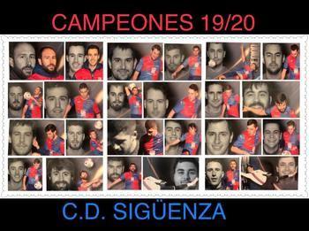 El CD Sigüenza debuta estes domingo en Primera Autonómica