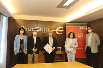 CEEI Guadalajara e Ibercaja apoyarán a los emprendedores e impulsarán la Empresa