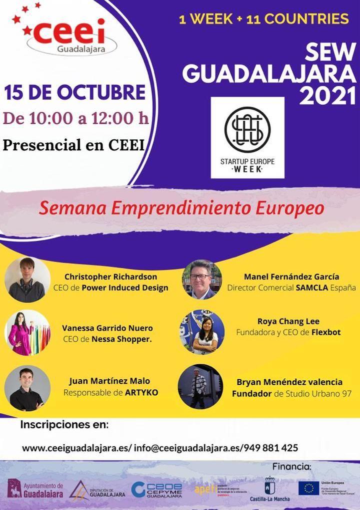 El CEEI de Guadalajara acogerá de nuevo la Startup Europea Week el próximo 15 de octubre