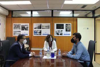 La presidenta de CEOE-CEPYME Guadalajara y el Secretario General de CCOO mantienen su primer encuentro